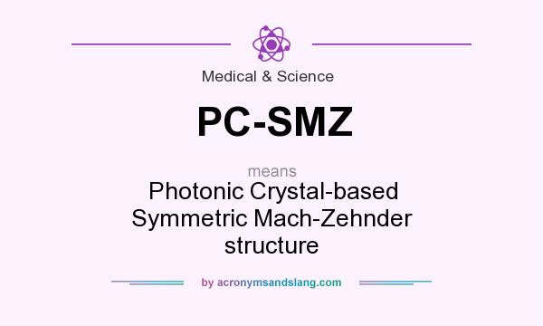 What does PC-SMZ mean? It stands for Photonic Crystal-based Symmetric Mach-Zehnder structure