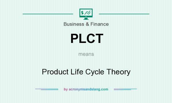 What does PLCT mean? It stands for Product Life Cycle Theory