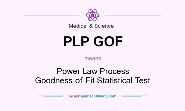 What does PLP GOF mean? It stands for Power Law Process Goodness-of-Fit Statistical Test