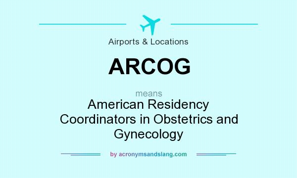 What does ARCOG mean? - Definition of ARCOG - ARCOG stands