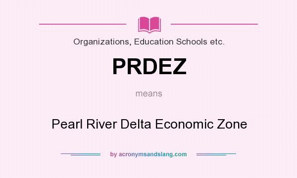 What does PRDEZ mean? - Definition of PRDEZ