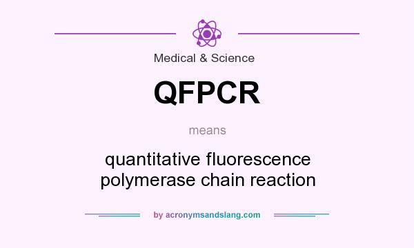 What does QFPCR mean? It stands for quantitative fluorescence polymerase chain reaction
