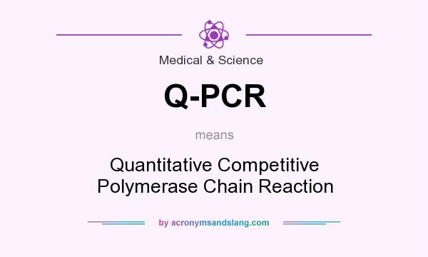 What does Q-PCR mean? It stands for Quantitative Competitive Polymerase Chain Reaction