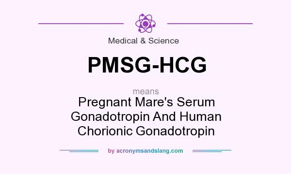 What does PMSG-HCG mean? - Definition of PMSG-HCG - PMSG-HCG