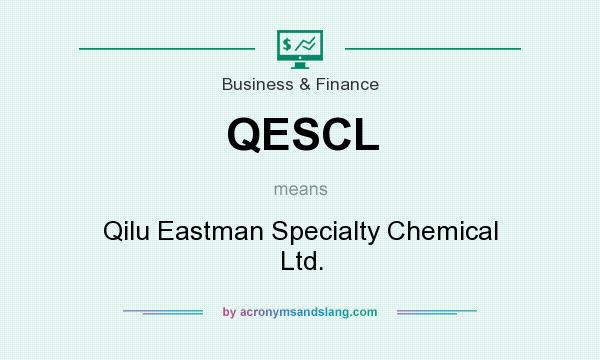 What does QESCL mean? It stands for Qilu Eastman Specialty Chemical Ltd.