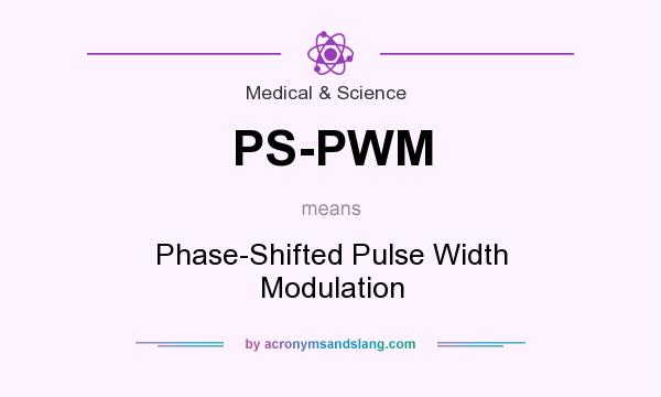 What does PS-PWM mean? - Definition of PS-PWM - PS-PWM