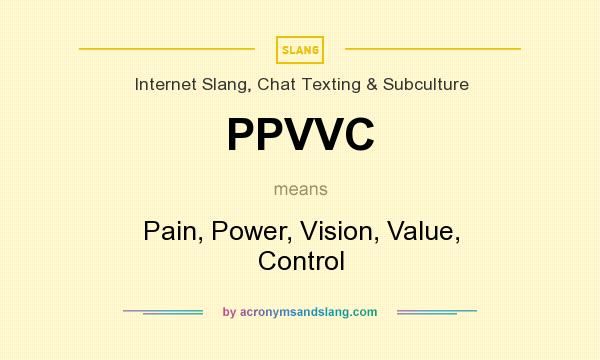 What does ppvvc mean definition of ppvvc ppvvc stands for pain