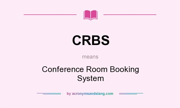 Crbs Conference Room Booking System In Undefined By