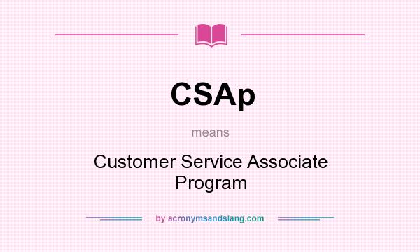 what is customer service associate means