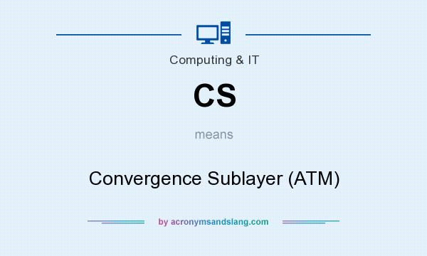 What does CS mean? It stands for Convergence Sublayer (ATM)