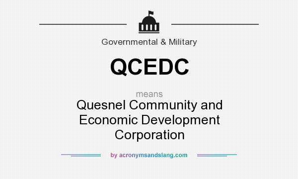 What does QCEDC mean? It stands for Quesnel Community and Economic Development Corporation
