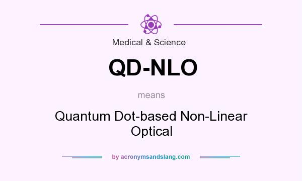 What does QD-NLO mean? It stands for Quantum Dot-based Non-Linear Optical