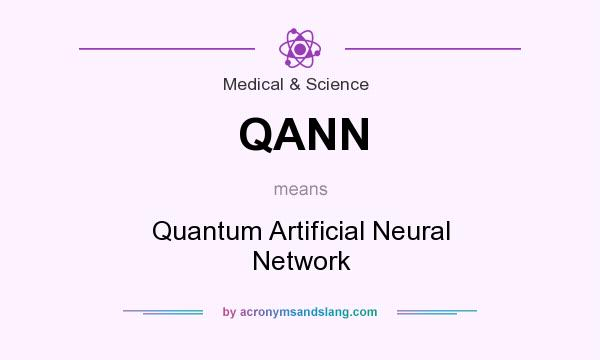 What does QANN mean? It stands for Quantum Artificial Neural Network