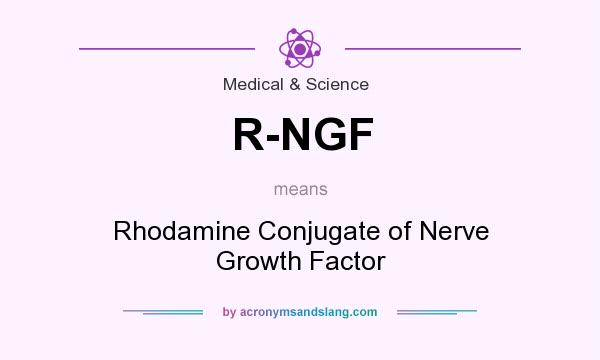 What does R-NGF mean? It stands for Rhodamine Conjugate of Nerve Growth Factor