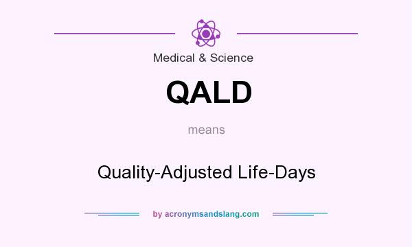 What does QALD mean? It stands for Quality-Adjusted Life-Days
