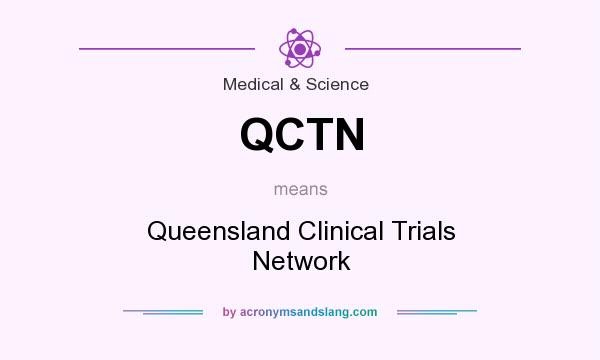 What does QCTN mean? It stands for Queensland Clinical Trials Network