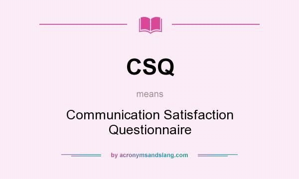 Communication Questionnaire
