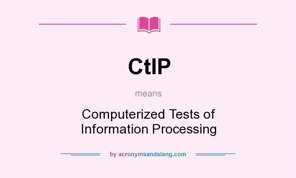 ctips pre test