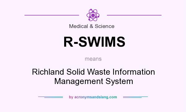 What does R-SWIMS mean? It stands for Richland Solid Waste Information Management System