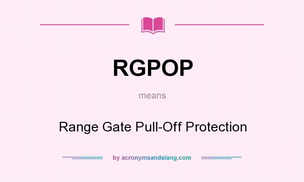 what does rgpop mean definition of rgpop rgpop stands