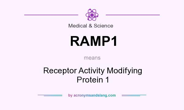 What does RAMP1 mean? It stands for Receptor Activity Modifying Protein 1
