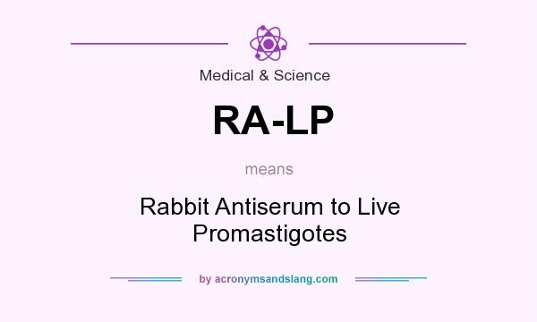 What does RA-LP mean? It stands for Rabbit Antiserum to Live Promastigotes