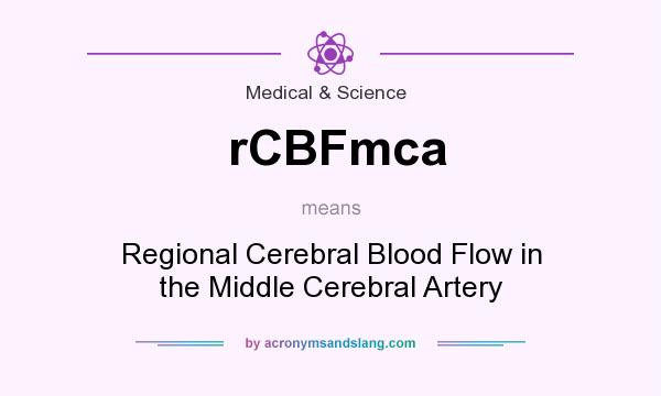 What does rCBFmca mean? It stands for Regional Cerebral Blood Flow in the Middle Cerebral Artery