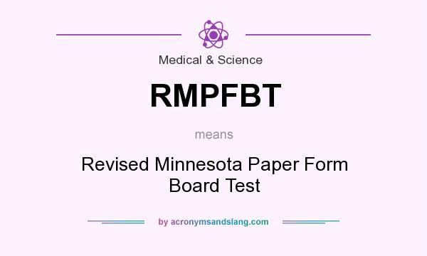 board minnesota form paper