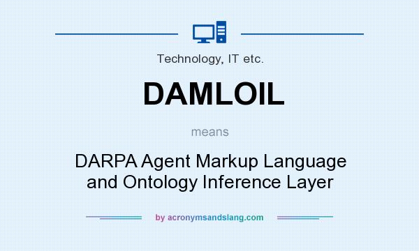 What does DAMLOIL mean? It stands for DARPA Agent Markup Language and Ontology Inference Layer