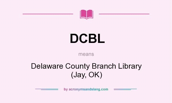 DCBL - Delaware County Branch Library (Jay, OK) in Undefined