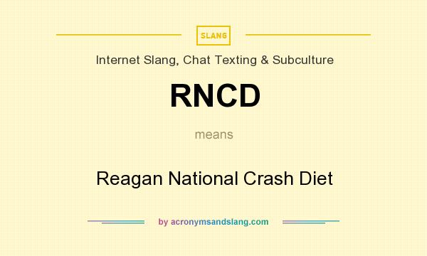 What Does RNCD Mean