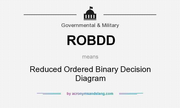 What Does Robdd Mean Definition Of Robdd Robdd Stands For