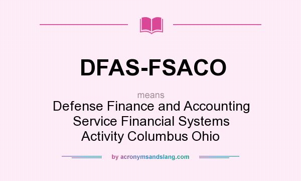 the defense finance and accounting service Defense finance and accounting service-charleston operating location, civilian pay directorate, code p, 1545 truxtun avenue, charleston, sc 29405-1968 defense finance and accounting service, systems engineering organization pensacola, 250 raby avenue, building 801, pensacola, fl 32509-5128.