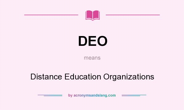 Distance education dissertation