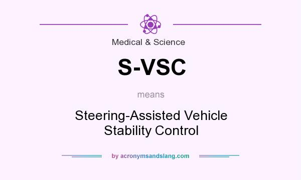 What does S-VSC mean? It stands for Steering-Assisted Vehicle Stability Control