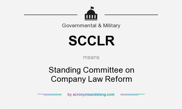 What does SCCLR mean? - Definition of SCCLR - SCCLR stands