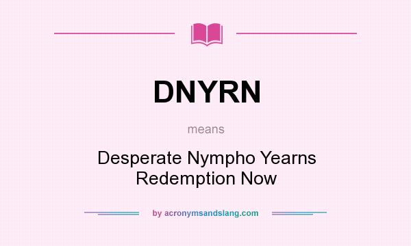 What does nympho mean