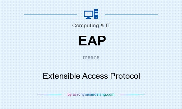 What does EAP mean? It stands for Extensible Access Protocol