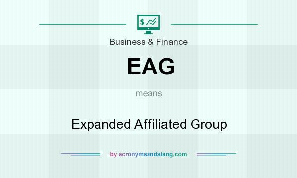 What does EAG mean? It stands for Expanded Affiliated Group