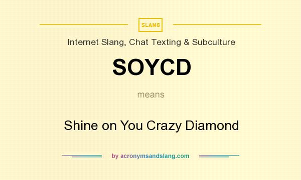 What does SOYCD mean? - Definition of SOYCD