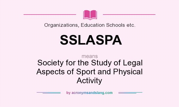 legal aspects of sport