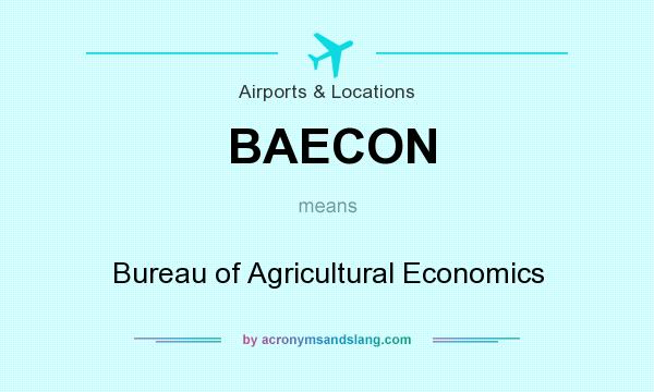 What does BAECON mean? - Definition of BAECON - BAECON stands for