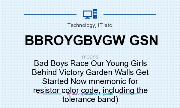 What Does Bbroygbvgw Gsn Mean Definition Of Bbroygbvgw Gsn Bbroygbvgw Gsn Stands For Bad
