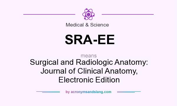What does SRA-EE mean? - Definition of SRA-EE - SRA-EE stands for ...