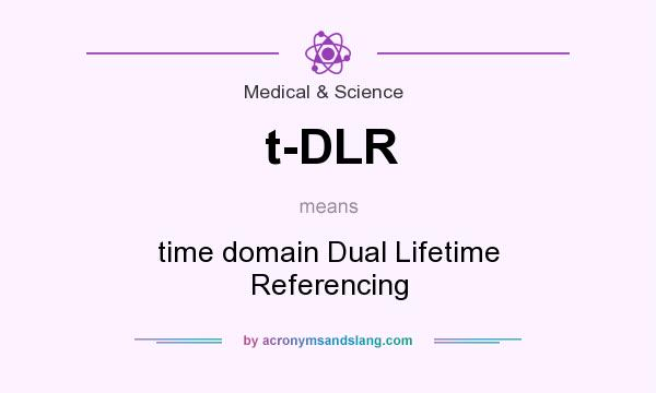 What does t-DLR mean? It stands for time domain Dual Lifetime Referencing