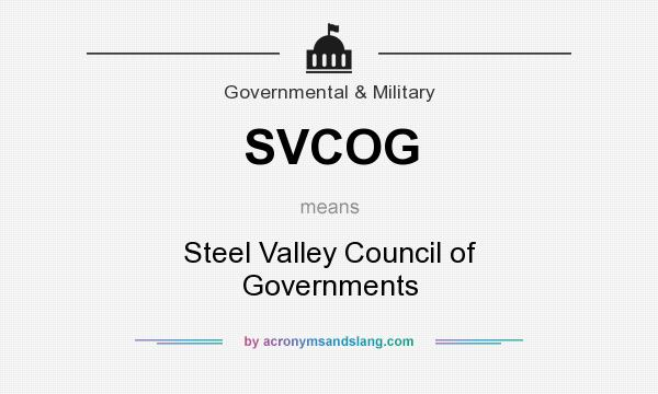 What Does SVCOG Mean