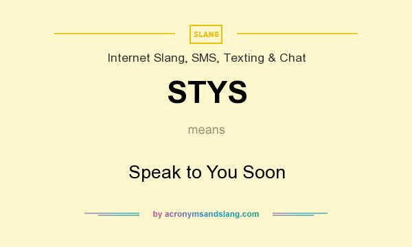 talk to you later meaning