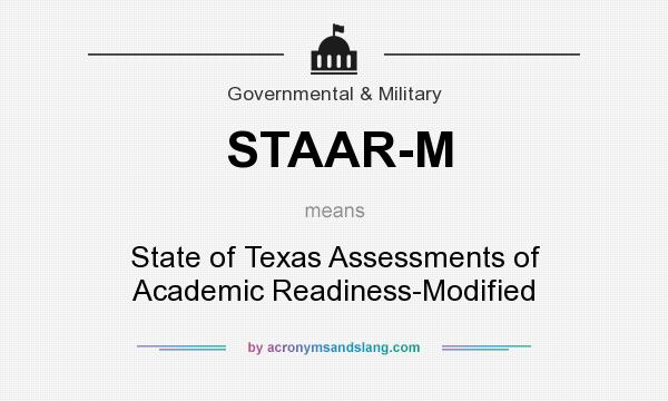 What does STAAR-M mean? - Definition of STAAR-M - STAAR-M ...