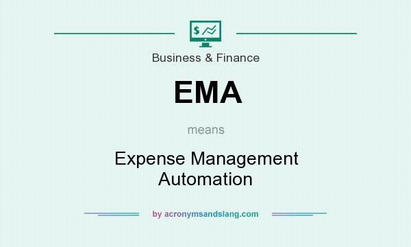 What does EMA mean? It stands for Expense Management Automation