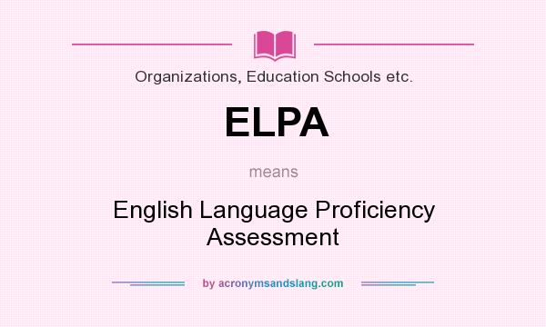 thesis on english language proficiency Measuring the academic achievement and english language proficiency of students at the secondary level by jessica r wille a research paper submitted in partial fulfillment of the.